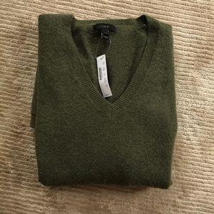 J Crew sweater - green- m